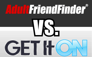 comparatif entre AdultFriendFinder et Get It ON