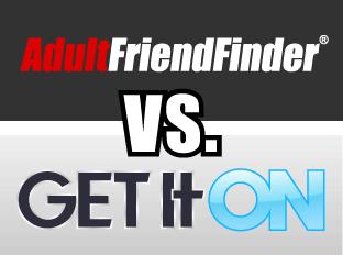 comparatif entre AdultFriendFinder et Get It ON